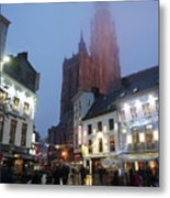 Misty Cathedral Metal Print