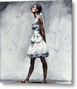 Misty Copeland Ballerina As The Little Dancer Metal Print