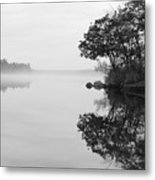 Misty Cove Metal Print