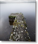Misty Lough Erne Metal Print