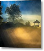 Misty Morning On The Chattahoochee Metal Print