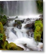 Misty Waters Metal Print
