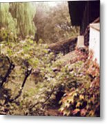 Misty Willows Metal Print by Ivy Ho