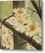 Mistymorningblossom Tryptic Metal Print