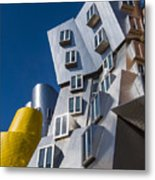 Mit Stata Center Cambridge Ma Kendall Square M.i.t. Metal Print