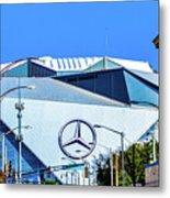 Mercedes Benz Stadium Metal Print