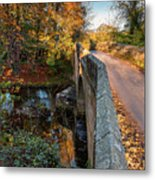 Mitford Bridge Over River Wansbeck Metal Print