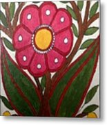 Mithila Bloom Metal Print