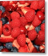 Mixed Berries Metal Print