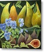 Mixed Fruit Metal Print