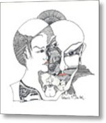 Mixed Identities Metal Print