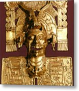 Mixtec: God Of The Dead Metal Print
