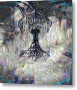 Mjollnir Metal Print by JC Swart