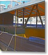 Mv  Krait In Darling Harbour Sydney Metal Print