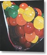 Mmmm   Candies Metal Print