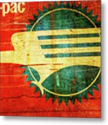 Mo-pac Caboose  Metal Print by Toni Hopper