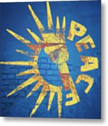 Moar Peace Metal Print by Laura Brightwood