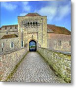Moat House Leeds Castle Metal Print by Chris Thaxter