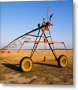 Mobile Irrigation Metal Print
