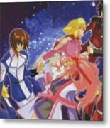 Mobile Suit Gundam Seed Destiny Metal Print