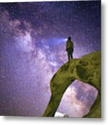 Mobius Milky Way Metal Print
