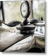 Model A Ford Hood Ornament Metal Print
