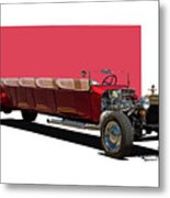 Model A Ford Limousine Metal Print