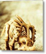Model Styracosaurus Skeleton Metal Print