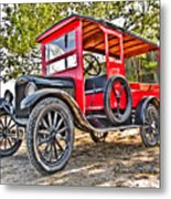 Model T Delivery Metal Print