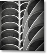 Modern Architecture Chicago Metal Print
