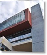 Modern Building Architecture Angles Metal Print