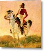 Modern Comanche 1890 Metal Print