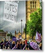 Modern Day Suffrage Metal Print