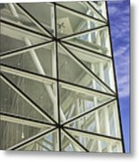 Modern Detail Bright Metal Print