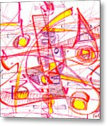 Modern Drawing Eighty-three Metal Print