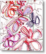 Modern Drawing Fifty-eight Metal Print