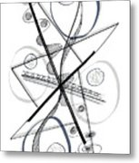 Modern Drawing Forty-eight Metal Print