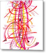 Modern Drawing Forty-five Metal Print