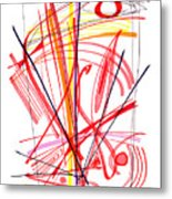 Modern Drawing Thirty-nine Metal Print