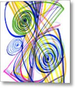 Modern Drawing Thirty-seven Metal Print