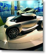 Modern Fuel Cell Car Metal Print