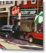 Modern Pastry Shop Boston Metal Print