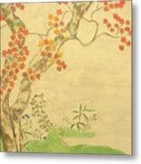 Modern Reflection Of Sakai Hoitsu Metal Print