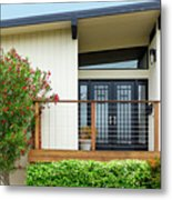 Modern Suburban House Hayward California 27 Metal Print