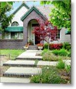 Modern Suburban House Hayward California 33 Metal Print