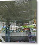 Modern Subway Station Design In Taiwan Metal Print