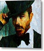 Modern Van Gogh Xiii Metal Print