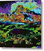 Modified Mountain Ddd5b Metal Print