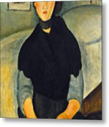 Modigliani: Woman, 1918 Metal Print