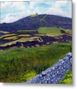 Moel Famau Hill Painting Metal Print